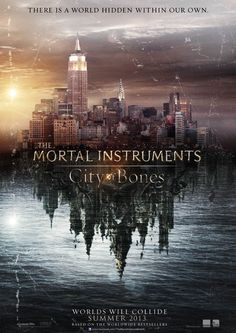 The Mortal Instruments - City of Bones... I cannot wait for this movie to come out:D