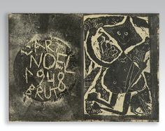 JEAN DUBUFFET LER DLA CAPANE. S.L. [PARIS], L'ART BRUT, 1948