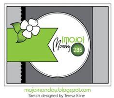 Mojo Monday card sketch
