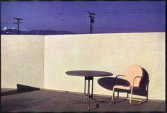 Bernard PLOSSU  Californie 1974  Tirage Fresson