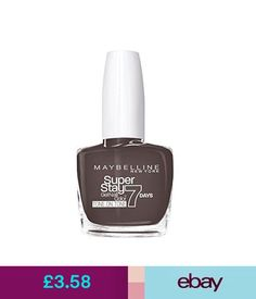 Nail Polish Maybelline York Superstay 7 Days Varnish Effect Gel 879 Hot Hue #ebay #Fashion