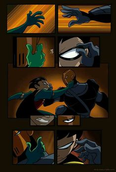 Teen Titans Fan Art: Robin and Slade's mask Slade Teen Titans, Teen Titans Robin, Teen Titans Fanart, Teen Titans Go, Warner Bros Pictures, Original Teen Titans, Cartoon Network, Comic Panels, Deathstroke