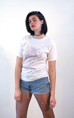 Vintage Ramshackle Glory T-Shirt, Punk Music T-Shirt, Folk Punk Tee, Anarchist Grunge Art Tee, Distressed Band T-Shirt, S