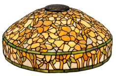 Louis Comfort Tiffany Laburnum Table Lamp Vases And