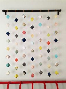 3D geometric wall art