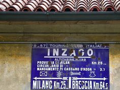 cartelli d'epoca del Touring Club