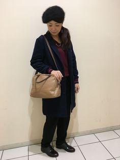 さりげないボーダーコーデ【ear札幌店】 ボーダー×ボーダー