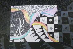 ribbon tangle Texas Art Teacher: 6th-8th Middle School