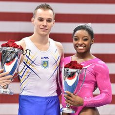 USA Gymnastics | Biles, Verniaiev win AT&T American Cup titles