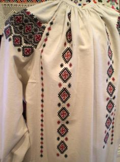 Folk Embroidery, Traditional Outfits, Cross Stitching, Needlework, Christmas Sweaters, Costumes, Clothes, Style, Fashion
