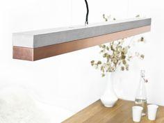 Beton+Kupfer+Hängeleuchte+[C1]+minimalistisch+von+GANT+lights+auf+DaWanda.com