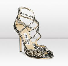 Jimmy Choo.  Yes, I am aware they cost as much as a beat up car.  Or two month's mortgage.  Or 4 months car payments.  Hmph.