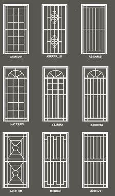 Home Window Grill Design, Window Grill Design Modern, House Window Design, Grill Door Design, Balcony Railing Design, Small House Design, Front Wall Design, Iron Gate Design, Iron Doors