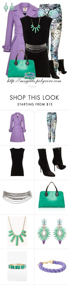 """Purple Coat"" by mssgibbs ❤ liked on Polyvore featuring Orla Kiely, Mary Katrantzou, Alice + Olivia, Sergio Rossi, Pieces, Marni, Forever 21, Sequin and Kate Spade"