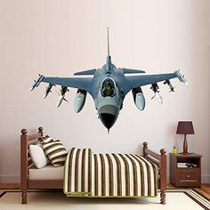 F 16 Fighting Falcon Fathead Wall Decal Part 58