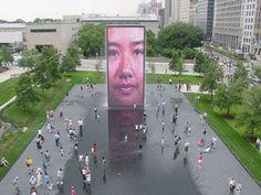 Millenium Park Fountain ~ Chicago