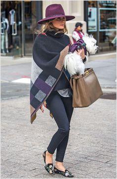 Olivia Palermo's look. Obsessed.