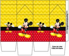 Caixa de Leite Mickey: