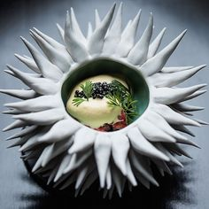 theartofplatingPhotographer Anthony Tahlier really knows how to take a photo that will hold anyone's gaze. Up on theartofplating.com (link in profile) is our Q&A with him where he talks about his work, influences, and who he loves to work with (spoiler alert: it's chefs!). --- Lobster with sea urchin froth and caviar by @acadiachicago. Bowl by @elementclaystudio. by: @anthonytahlierphoto #TheArtOfPlating
