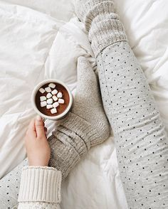 Cozy socks are a must-have for fall. We love these leggings, too.