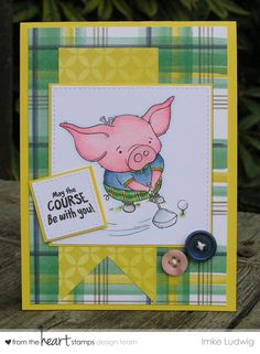 From the Heart Stamps - May Blog Hop