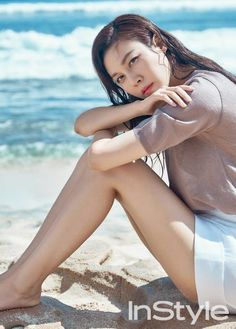 Kim Ha Neul is the Latest Star to Pose for InStyle Magazine | Koogle TV
