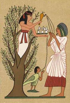 Trees in Ancient Egypt - Crystalinks