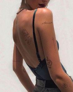 Dainty Tattoos, Dope Tattoos, Dream Tattoos, Pretty Tattoos, Body Art Tattoos, Hand Tattoos, Tatoos, Classy Tattoos, Stomach Tattoos
