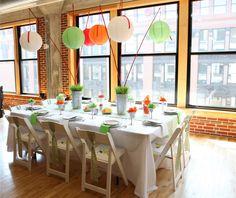 decoracion de eventos con papel - Buscar con Google