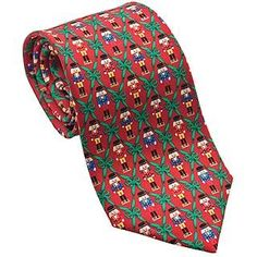 Nutcracker Tie - Red
