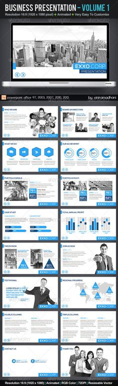 Business Presentation | Volume 1 - Business Powerpoint Templates