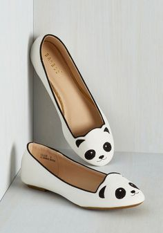 These lovely, little flats. | 22 Adorable Things You Need If You Love Pandas