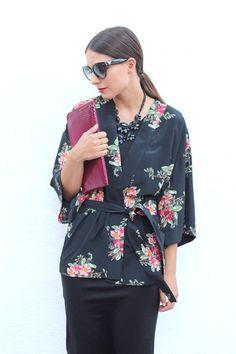 ALL THAT SHE WANTS - blog de moda: Flowered kimono