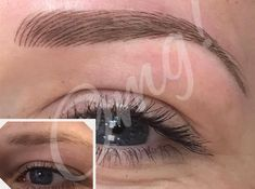 Look how amazing these brows look! So natural only you will know you've had a permanent cosmetic make-up treatment