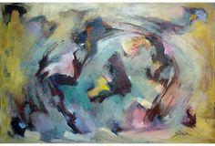 Abstract by Stephanie Shank on OneKingsLane.com