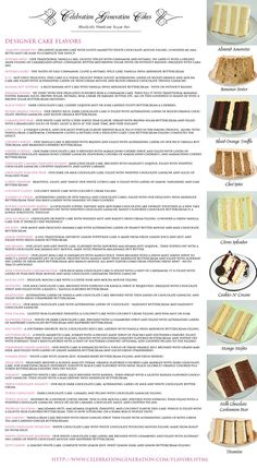 Cake Flavours and awesome Ideas for Cakes - Cooking & Baking skills - Gateau Frosting Recipes, Cupcake Recipes, Cupcake Cakes, Cake Filling Recipes, Frosting Tips, Fondant Cakes, Cake Decorating Techniques, Cake Decorating Tips, Beautiful Cakes