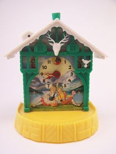 Swiss toy clock-littlemaneel has been obsessed with clocks lately