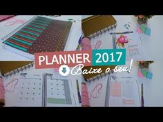 Planner 2017 para download - Casinha Arrumada