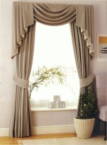 112 fantastiche immagini su Tende & Mantovane | Window treatments ...