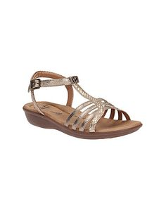 09f51255822be4 Clarks Sandcastle Ice - White Silver Leather - Womens Casual Sandals ...