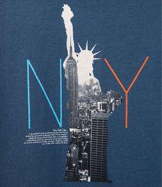 Image 3 de t-shirt statue de la liberté de Zara