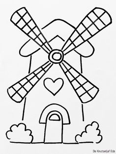Diy Crafts To Do, Rock Crafts, Arts And Crafts, 2nd Birthday Party Themes, Bee Boxes, School Murals, Hand Embroidery Designs, Drawing For Kids, Windmill