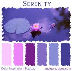 Serenity color scheme from suziqcreations.com