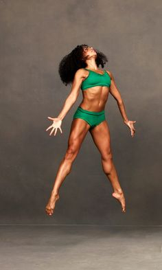 Linda Celeste Sims, Alvin Ailey American Dance Theater - Photo by Andrew Eccles. Look at those Muscles!