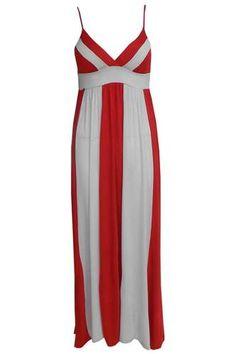 Ladies Womens Union Jack Maxi Dress Ladies England Flag Print Dress Top Maxi Print Dress Dresses Womens Dresses