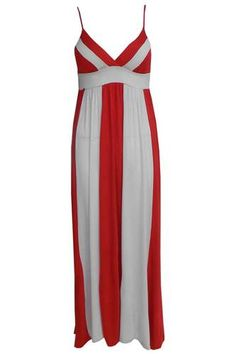 St George's Maxi Dress.  From Manchester.  Would look great with electric blue shrug and heels.