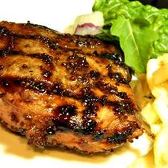 Dijon Grilled Pork Chops Allrecipes.com