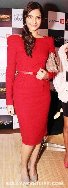 hair Sonam Kapoor in Elie Saab