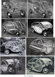 ARZENS (Paul Arzens)-04 (1951-Le Carrosse) designer of the micro car