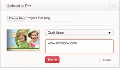 How to Pin Your Mixbook to Pinterest